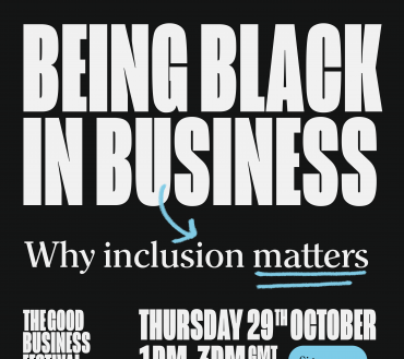 The Good Business Festival talks being black in business