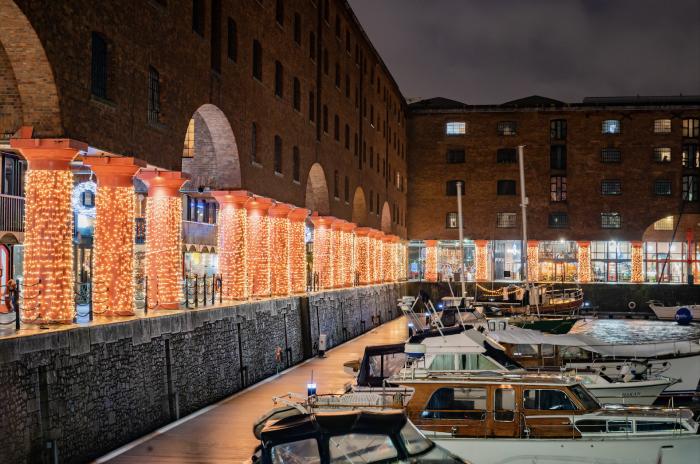 Lights, Camera, Action at Royal Albert Dock Liverpool