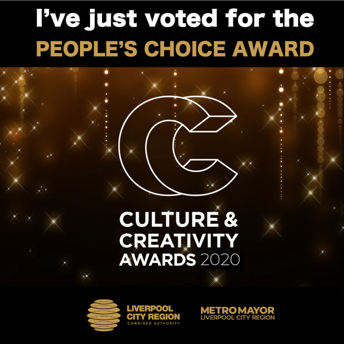 Vote for your People's Choice Award finalist in the Liverpool City Region Culture and Creativity awards.