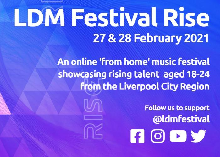 Liverpool Digital Music Festival Rise
