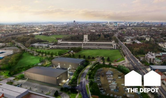 Introducing…The Depot Liverpool's new film studios named as they top out