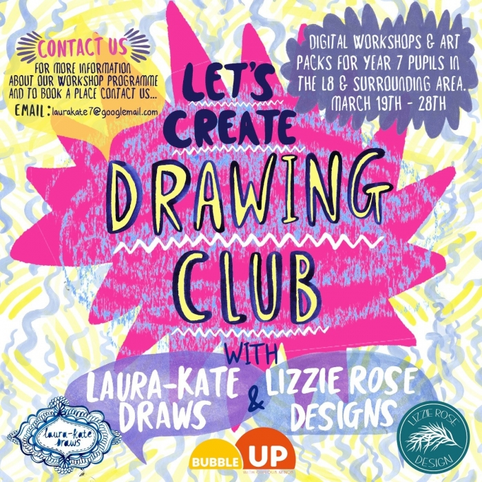 Liverpool artist to run a series of FREE creative workshops for local children