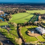 aerial photograph of liverpool parks
