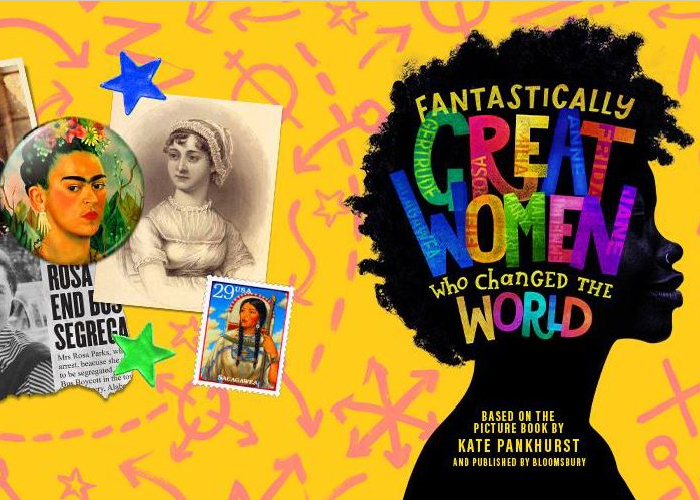 Brand new kickass-pirational pop musical'Fantastically Great Women Who Changed the World'announced as Playhouse Christmas 2021 show!