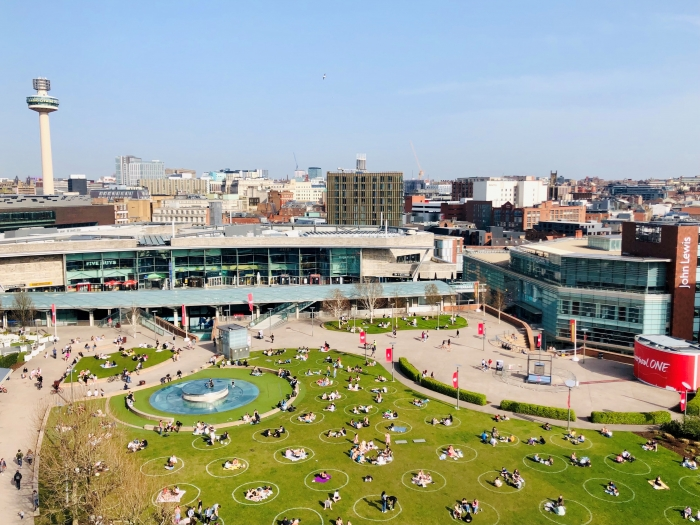 Liverpool ONE doubles outdoor seating capacity in support of occupiers and visitors