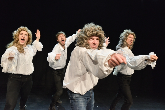 The show must go on – a rocked up comedy musical