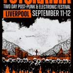 futurama festival poster in orange and black