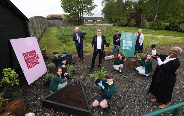 Metro Mayor launches The Good Business Festival Youth Programme at Knowlsey Safari
