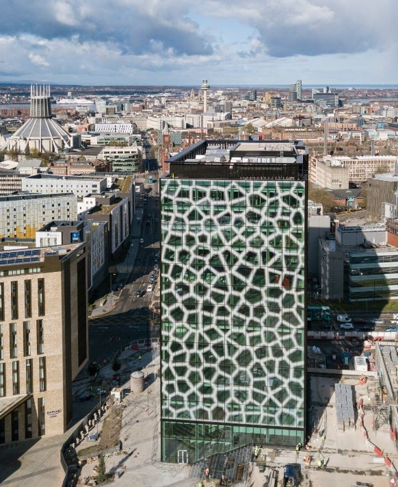 Mayors unite to open one of the world's healthiest buildings