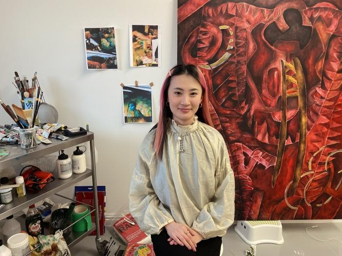 Kiki Xuebing Wang wins John Moores Painting Prize Visitors' Choice