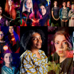 collage of images of performers at unity theatre