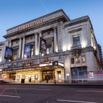 liverpool empire theatre by nght