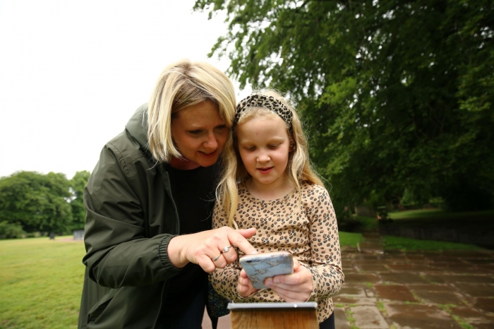 New interactive map experience uncovers Trails & Tales in Calderstones Park