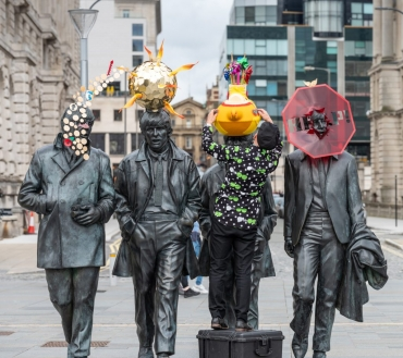 More Liverpool statues receive an artistic transformation