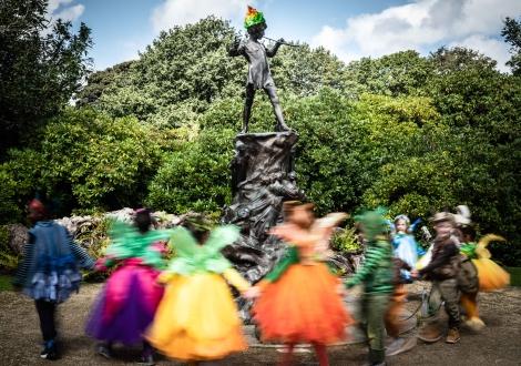 Peter Pan in Sefton Park