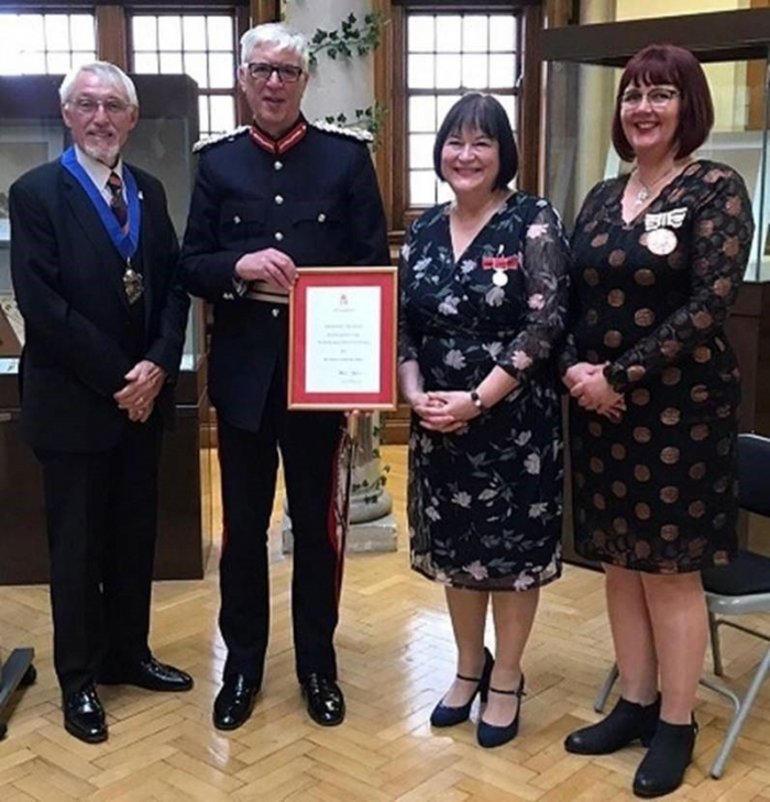 Royal honour for Liverpool library manager