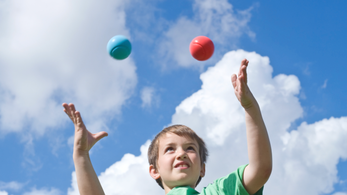 Royal Albert Dock launches Feed Your Mind campaign with free kids circus skills at half term