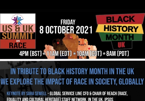 US & UK Summit on Race Black History Month in the United Kingdom