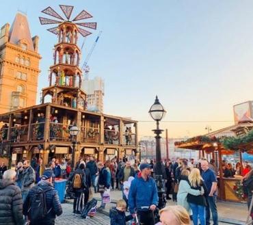 Festive markets return to Liverpool