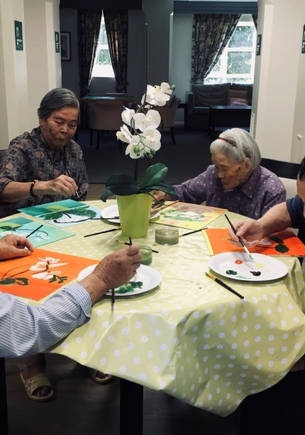 Chung Hok House: Arts For Health Exhibition
