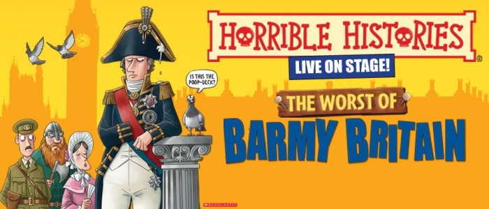 HORRIBLE HISTORIES: THE WORST OF BARMY BRITAIN