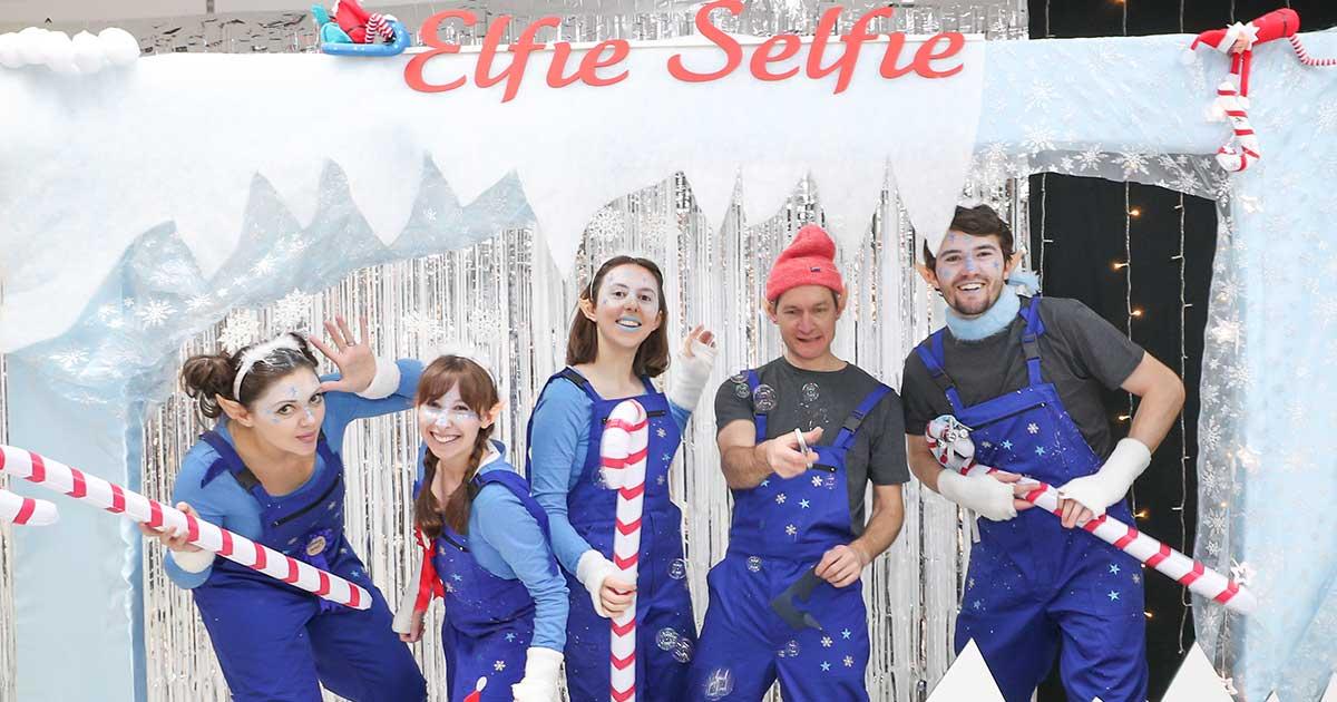 The Elfie Selfie Workshops at St Johns Shopping Centre