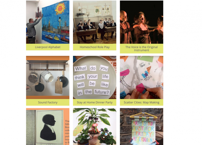 Summer Family Programme – 2020 Bluecoat Family Activities Archive